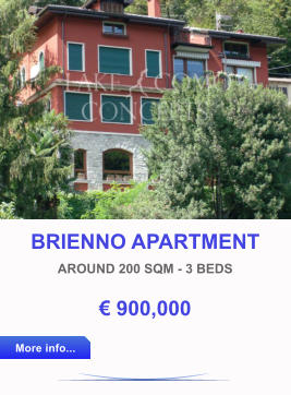 BRIENNO APARTMENT AROUND 200 SQM - 3 BEDS € 900,000 More info... More info...